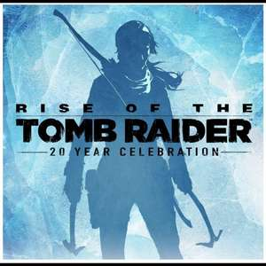 Steam: Rise of the Tomb Raider 20 year celebration