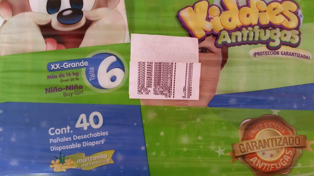 Bodega Aurrerá: Pañal Kiddies etapa 6 a $89