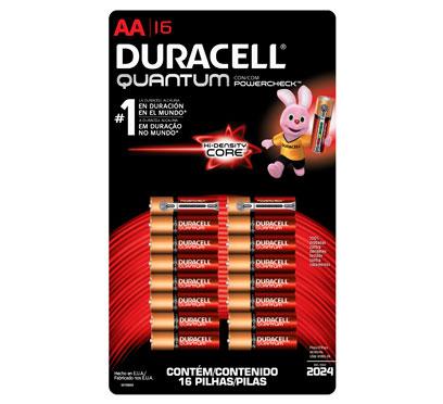 CITY CLUB: 16 pilas duracell quantum $265 pesos