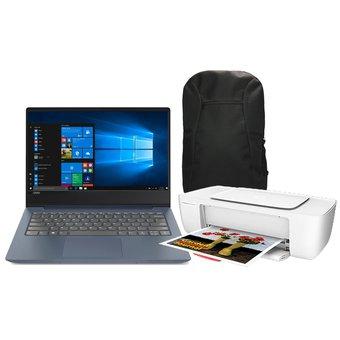 Linio: Laptop Lenovo 330S core i5 RAM 20GB DD 1TB + impresora HP + backpack