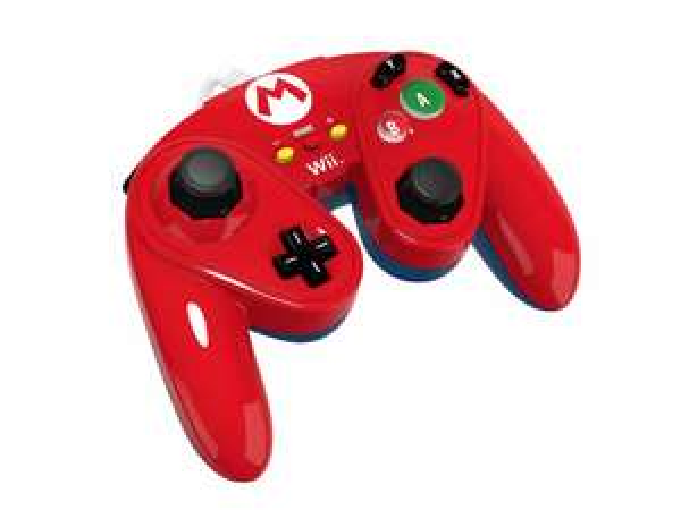 Liverpool: Control para Wii U Fight Pad Mario Nintendo