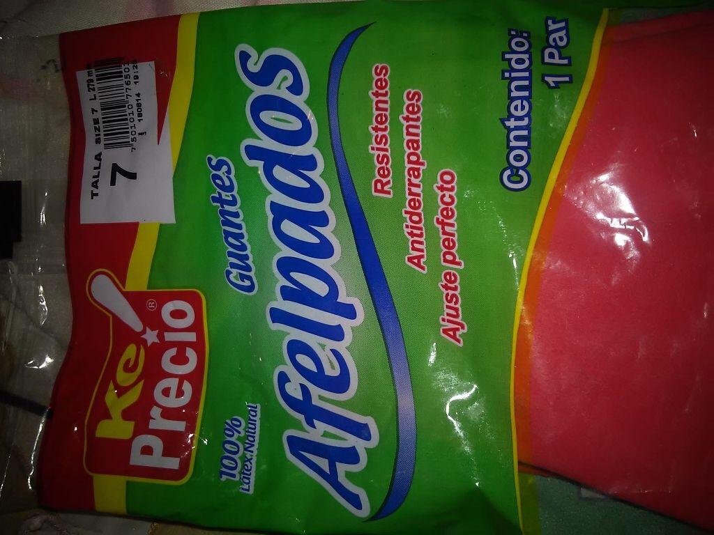 La Comer: guantes para lavado a $6.69 (ademas 3x2)
