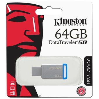 Linio Kingston 64GB - USB 3.1 Unidad Flash