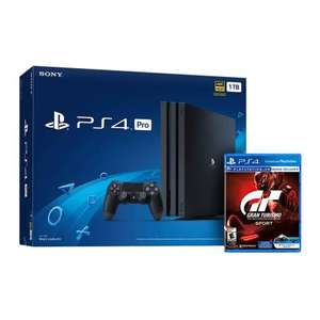 Sam's Club: consola Playstation 4 Pro 1tb + Gran turismo Sport