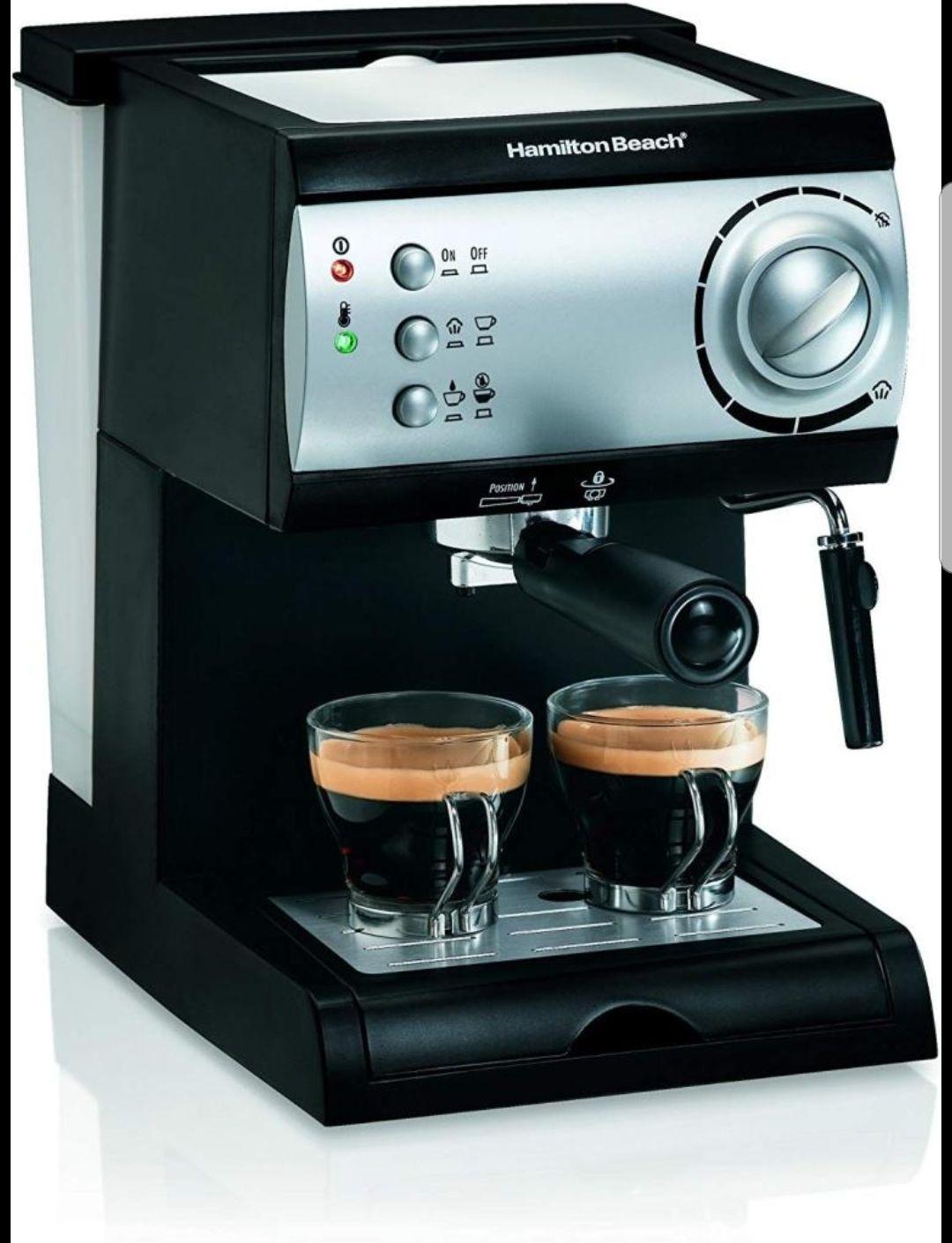 Soriana: Unicornio  Cafetera Hamilton Beach Espresso 2 tazas (y otras ofertas)
