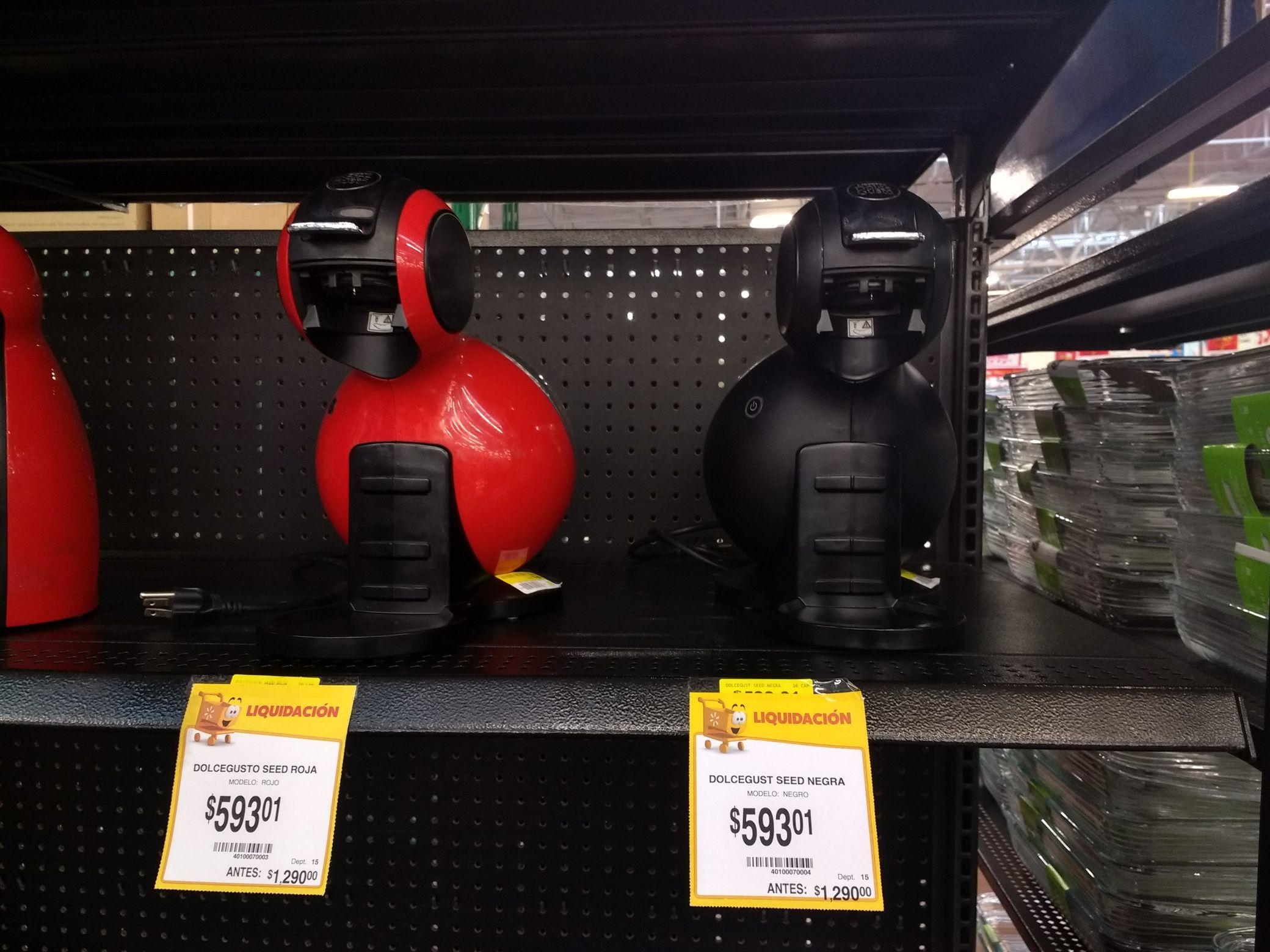 Walmart Town NR Máquina para café Dolce Gusto de $1290 a $593