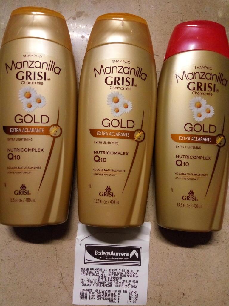 Bodega Aurrerá: Shampoo Manzanilla Grisi