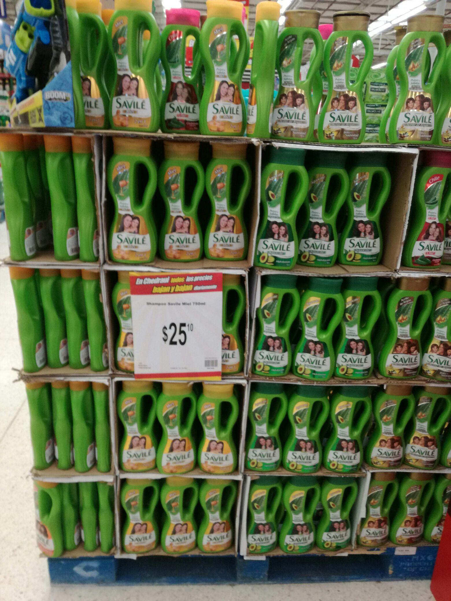 Chedraui Neza Estadio: Shampoo Savile