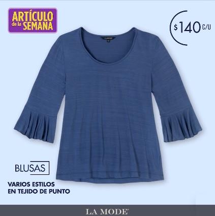 Suburbia: Artículo de la Semana: Blusa La Mode varios estilos en tejido de punto $140 c/u