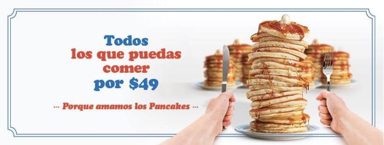 IHOP México: Todos los pancakes que puedas comer por $49