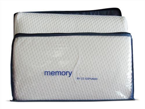 Tienda oficial Memory Foam Mercado Libre: Two Pack Almohada Memory Foam Curva Súper Suave