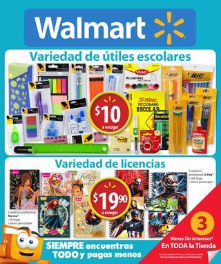 Folleto de ofertas Walmart del 30 de Julio al 12 de agosto