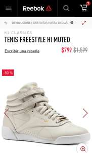 Reebok: Tenis Freestyle HI Muted