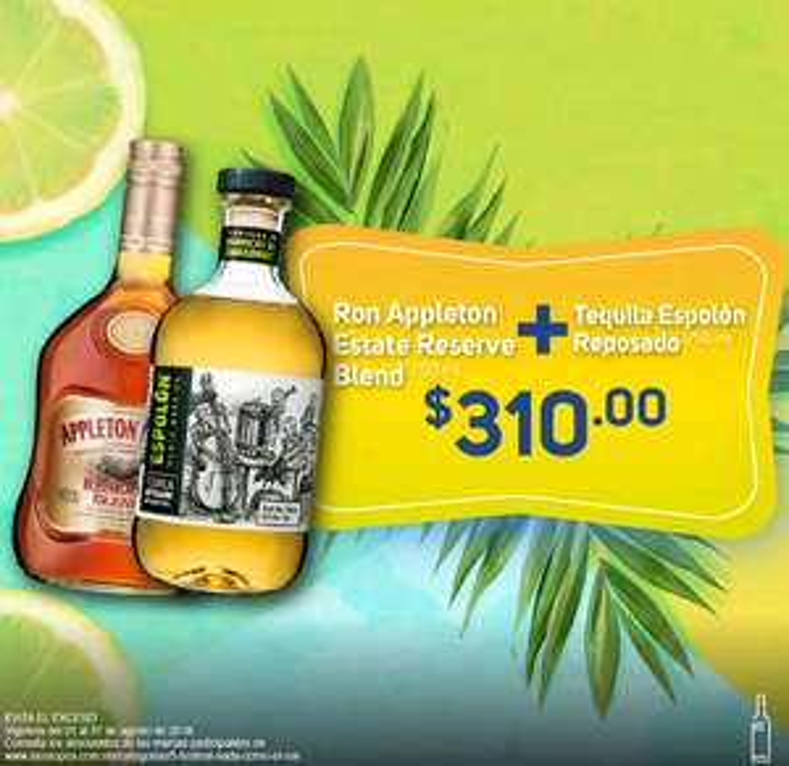 La Europea: Ron Appleton Reserve Blend + Tequila espolón reposado