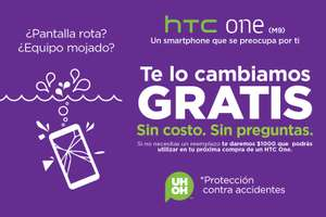 Seguro contra accidentes GRATIS htc one M9