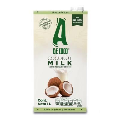 Superama: Leche de coco libre de gluten y hormonas 3 x $70