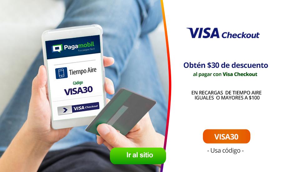 Pagamobil: descuento de $30 en Recargar mayor a $100