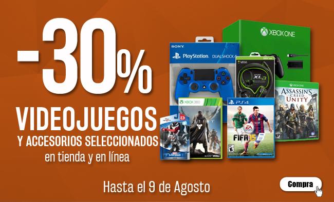 Blockbuster: 30% en accesorios seleccionados (DualShock 4 $770)