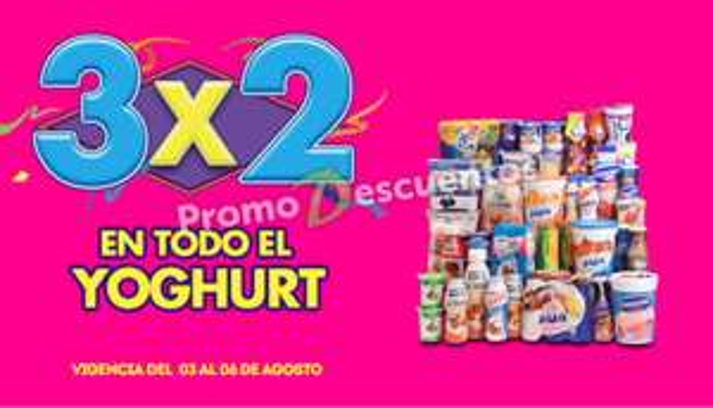 Ofertas de Julio Regalado 2015 en La Comer: 3x2 en todo el yoghurt (agosto 3)