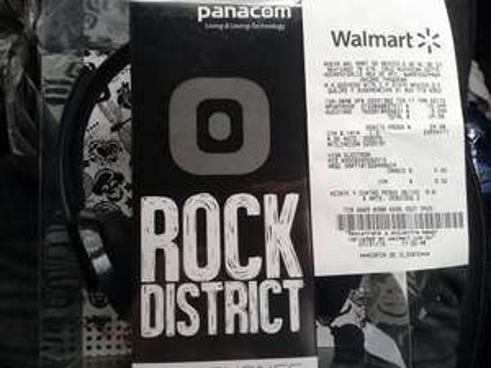Walmart: Audífonos Rock Distict Panacom