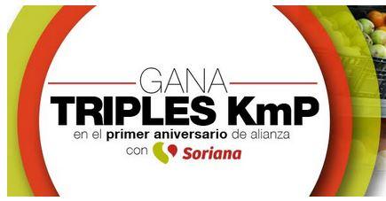 Soriana: Triples KMP en todas tus compras