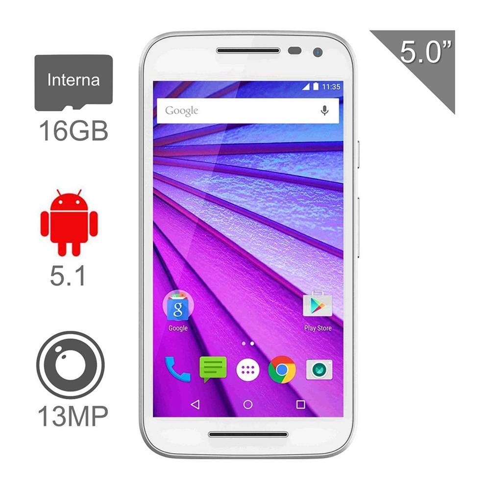 Walmart: Motorola Moto G 3a generación 16 GB, 1GB RAM, Dual SIM, Libre + 2 tapas traseras a $3,999