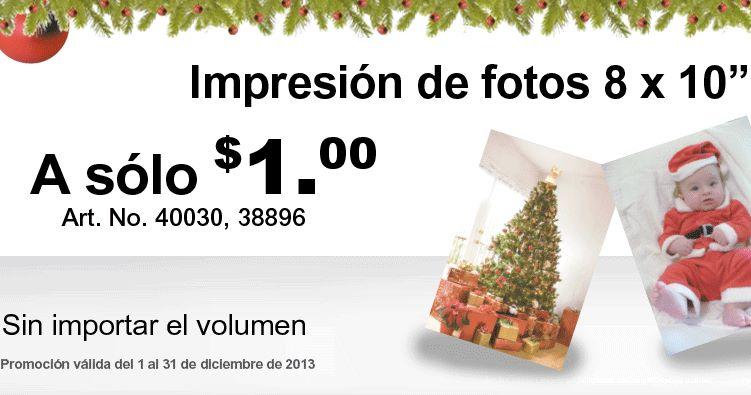 """Office Depot: ampliaciones 8x10"""" a $1"""