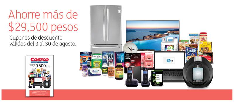 Costco: folleto de ofertas del 3 al 30 de agosto