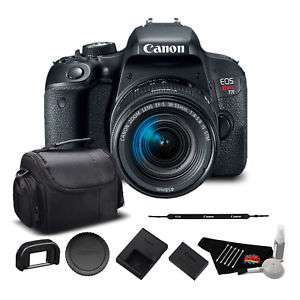 Ebay: Canon EOS Rebel T7i con lente 18-55mm aplicando cupon