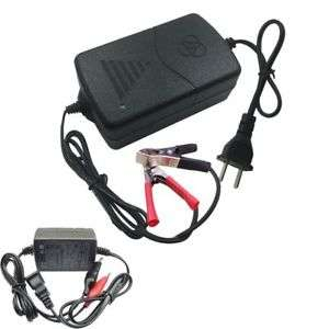 ebay: Cargador de baterías para moto y coche 12 v
