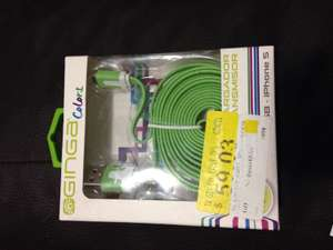 Walmart: cable Ginga para iPhone 5 a $19.04
