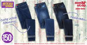 Suburbia: jeans Non Stop mujer $150