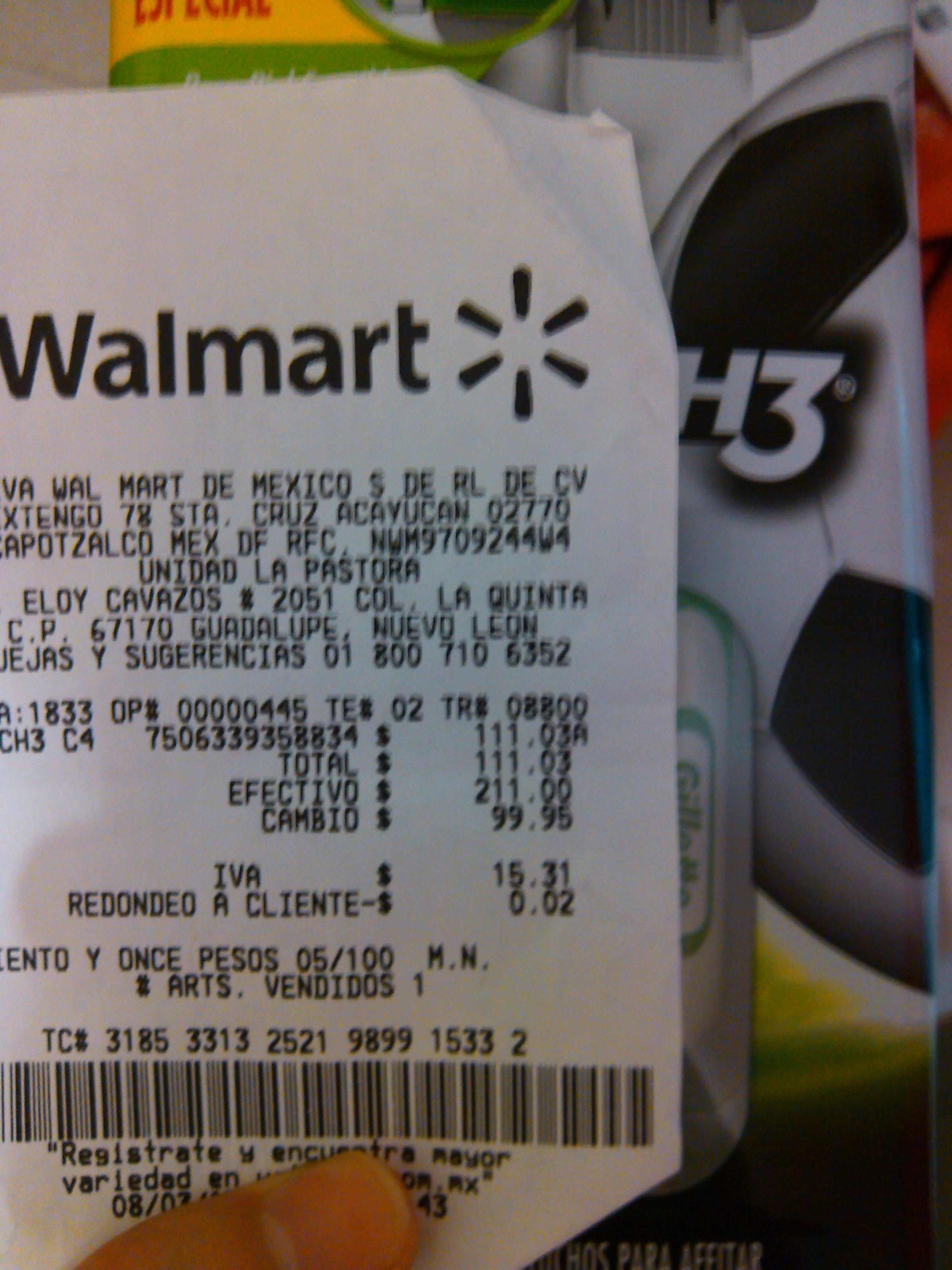 Walmart: Paquete Gillette Mach3 sensitive 5 cartuchos $111.03