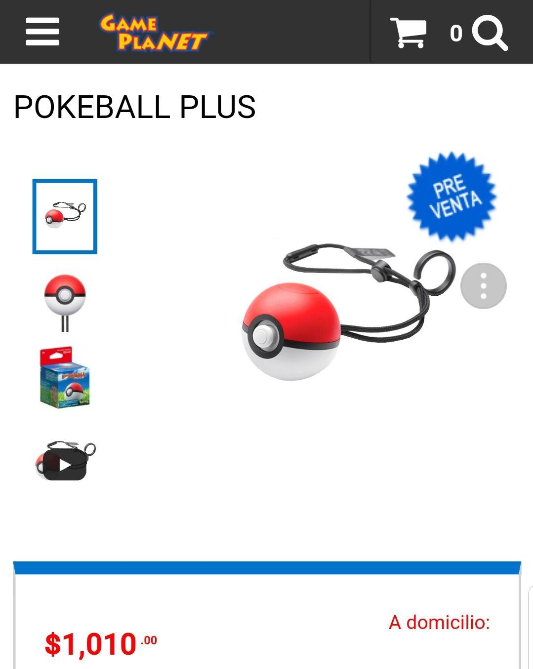 Game Planet: Preventa Pokeball Plus
