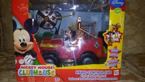 Walmart: Carro Control Remoto Mickey Mouse Club House a $89.02