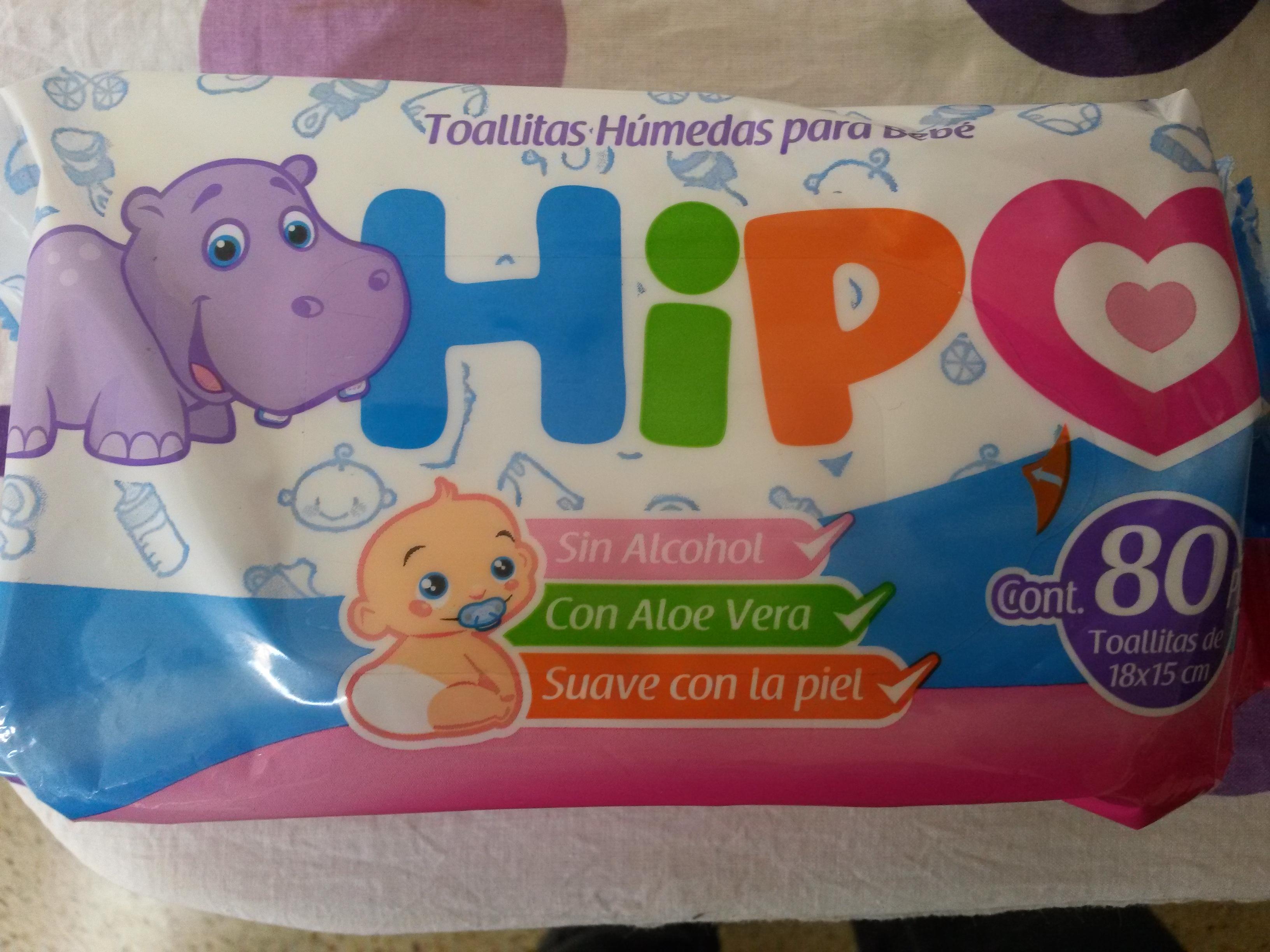 Chedraui: 80 toallitas húmedas Hipo $4.90