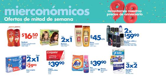 Mierconómicos Farmacias Benavides agosto 5