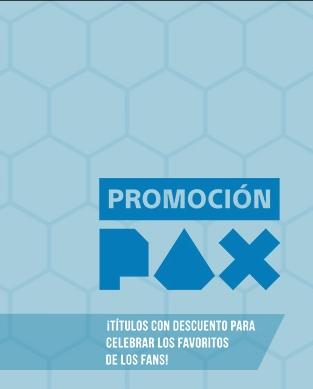 PSN: Venta Flash (Promocion PAX) PSN store