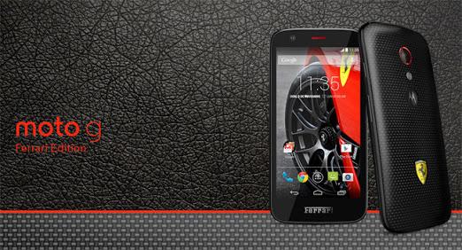 Telcel: Motorola Moto G Edición Ferrari $1,599