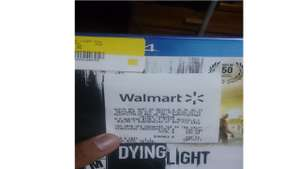 Walmart: Dying Light PS4 299.03
