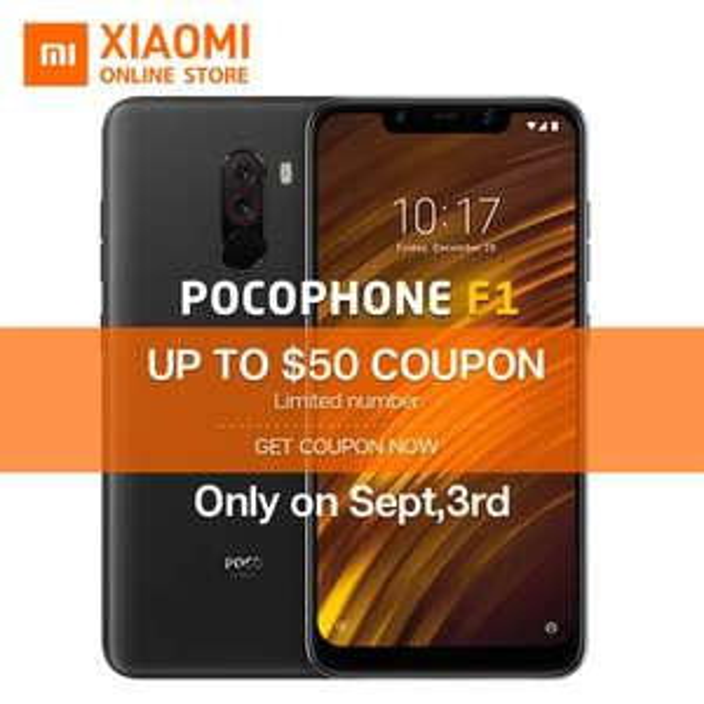 Aliexpress: PocoPhone 64gb con envio.
