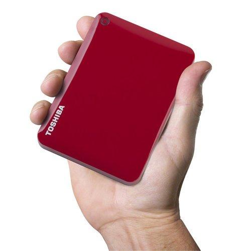 Amazon: Toshiba Canvio Connect II de 1TB Rojo