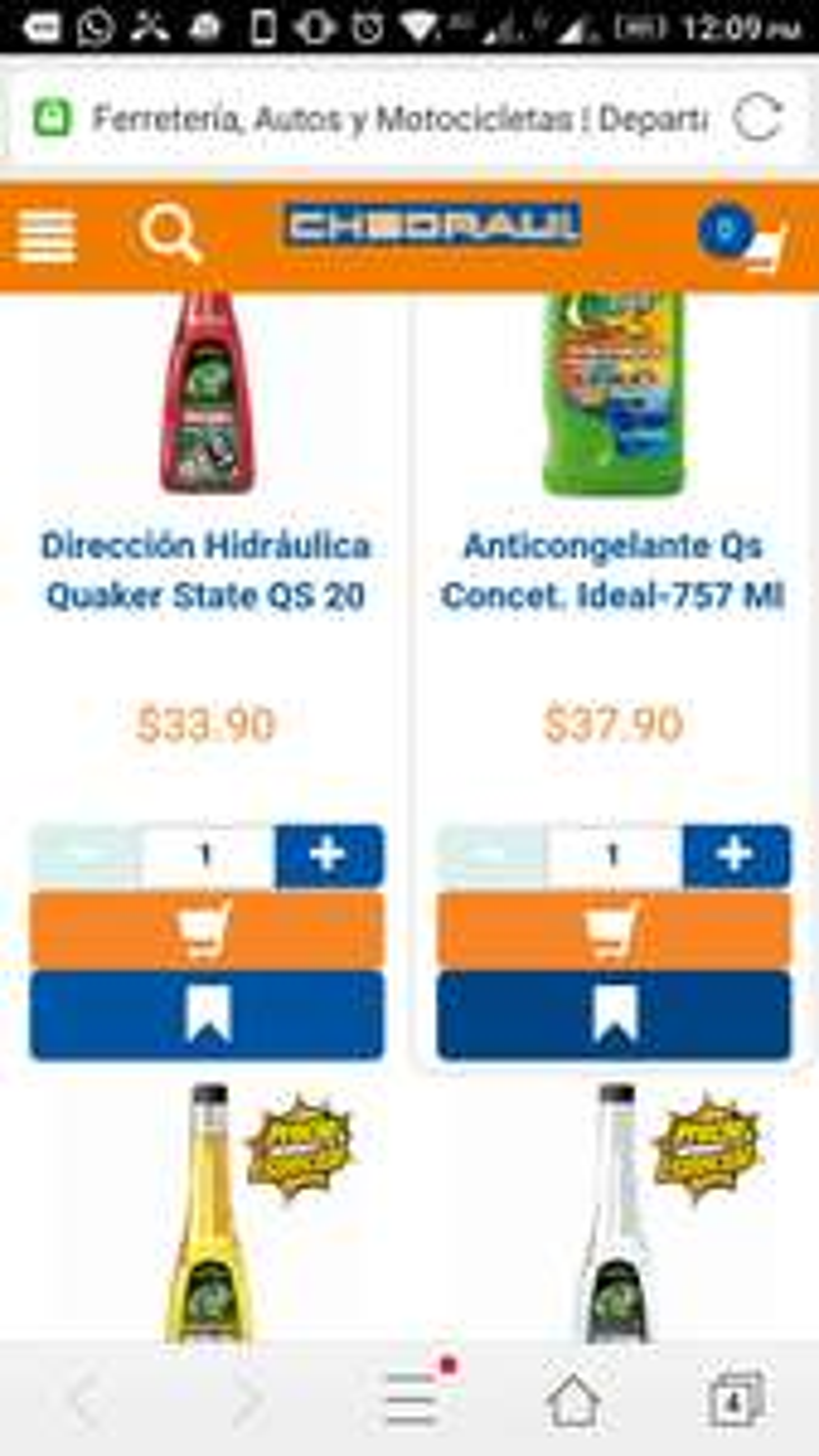Chedraui: $20 desc por cada $100 de compra en artículos Quaker State