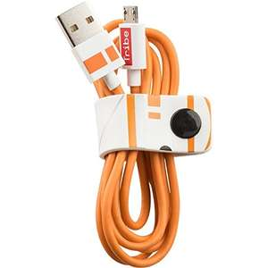 Amazon: Cable Micro USB Star Wars BB8