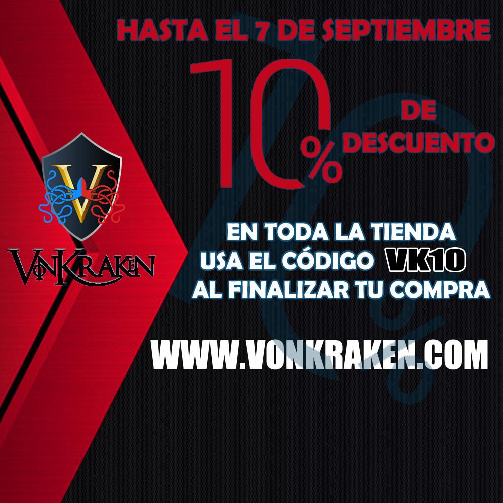 VonKraken |10% de descuento hasta el 7 de septiembre