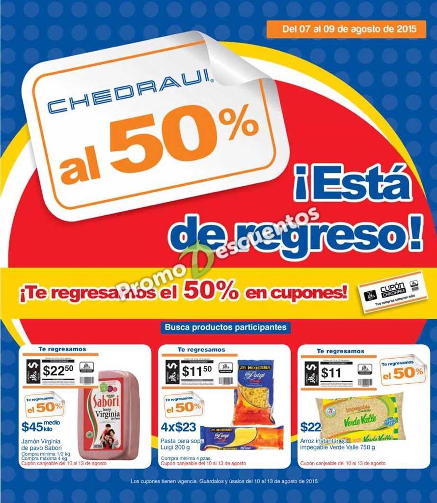 Chedraui: artículos con 50% de bonificación del 7 al 9 de agosto