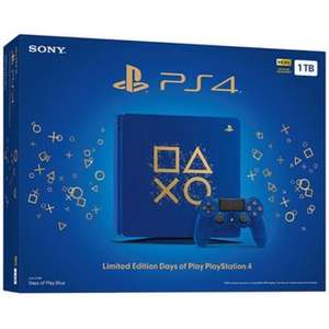 Linio: Consola PS4 1TB Limited Edition Days Of Play Blue (pagando con PayPal)