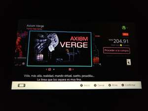 eShop Axiom Verge Nintendo Switch