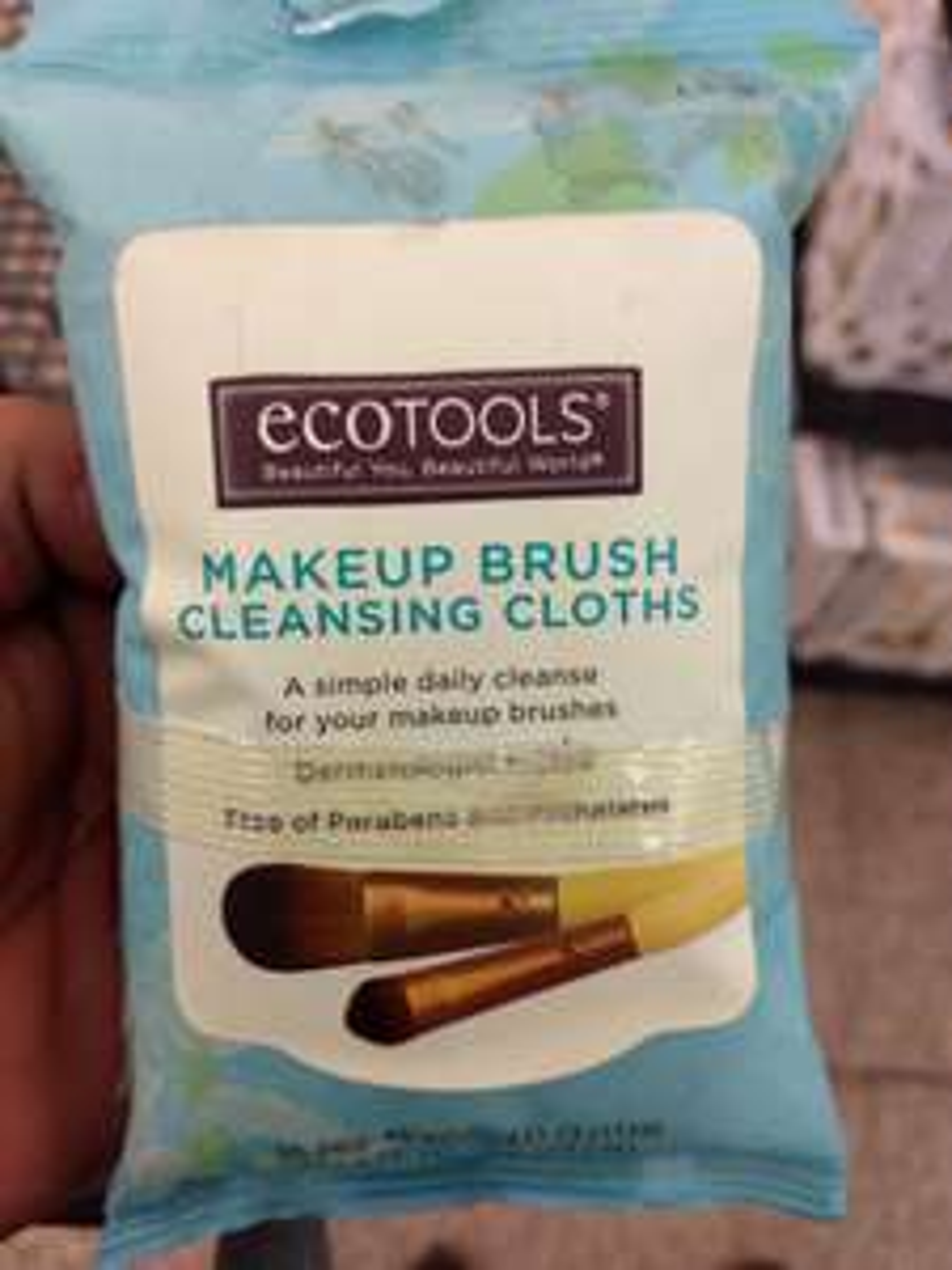 Walmart: Ecotools MakeUp Brush Cleansing Cloths
