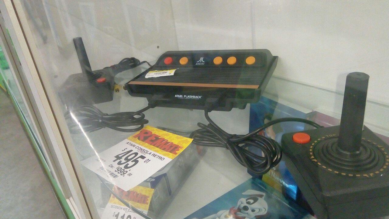 Bodega Aurrera: Atari retro con el 50%